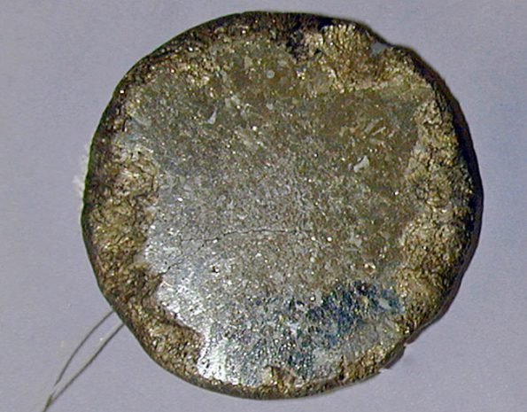 Pyrite mirror, Xochicalco, AD 700–900 Pitt Rivers Museum, Oxford